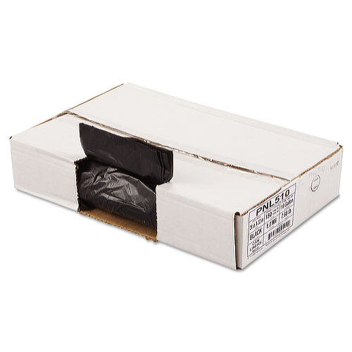 24x32 Low Density Black Can Liners 10 Gallon