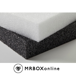 48x108x1 White Poly Plank Foam
