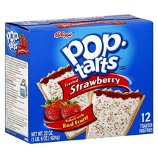 Free Gift:Strawberry Pop Tarts with a $325 order
