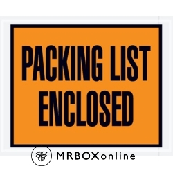 4.5x5.5 FF Packing List Enclosed Envelopes