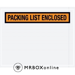 4.5x5.5 Quarter Packing List Envelope