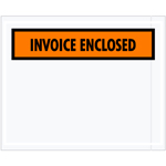 "4.5""x5.5"" Invoice Enclosed Packing Envelopes"