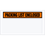 "5.5""x10\"" Packing List Enclosed Envelopes"