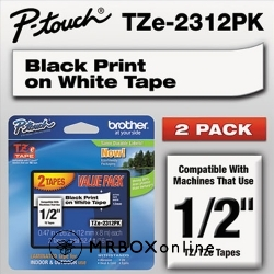 Brother 1/2 Labeling Tapes 2pk