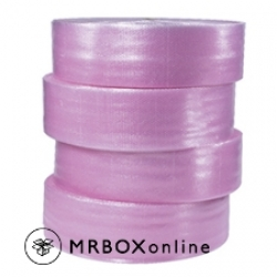 "3/16x300 4 rolls of 12"" Pink Antistatic Bubble P12"