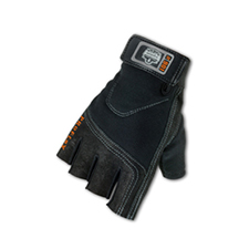 Proflex� Half-Fingered Impact Gloves Large