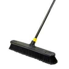 "Quickie 24"" Smooth Surface Pushbroom"
