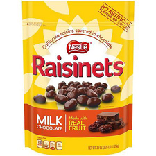 Raisinets Milk Chocolate with a order of $225