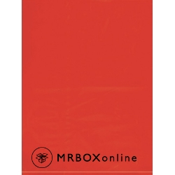 9x12 Red Flat Plastic Bag 2 Mil