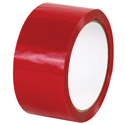 2x110yds Red Plastic Box Tape
