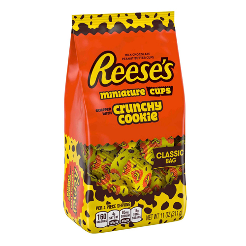 Reeses Crunchy Cookie with a $325 order