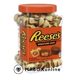 Reeses Miniatures Peanut Butter with a $1200 order 38 oz