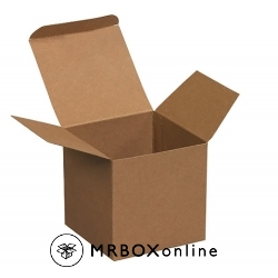 4x4x4 Kraft Chipboard Boxes