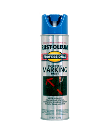 Rustoleum Blue Marking Spray Paint