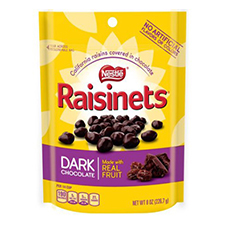 Raisinets Dark Chocolate with a order of $225