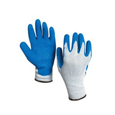 Medium Rubber Coated Palm Gloves