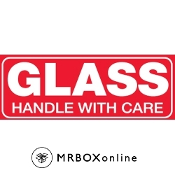 1-1/2x4 Mini Glass Handle With Care