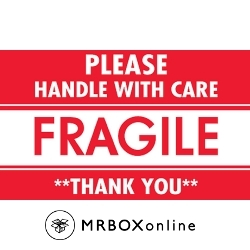 3x5 Fragile Handle With Care Thank You