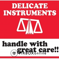 4x4 Delicate Instruments Handle With Care