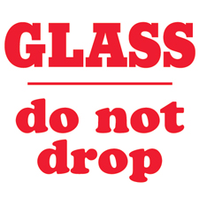 4x4 Glass Do Not Drop