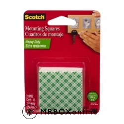 3M Scotch Indoor Mounting Squares