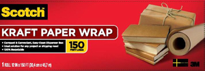 3M Scotch Kraft Paper Wrap