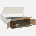 12.5x3x17.5 Self Seal Cardboard Boxes