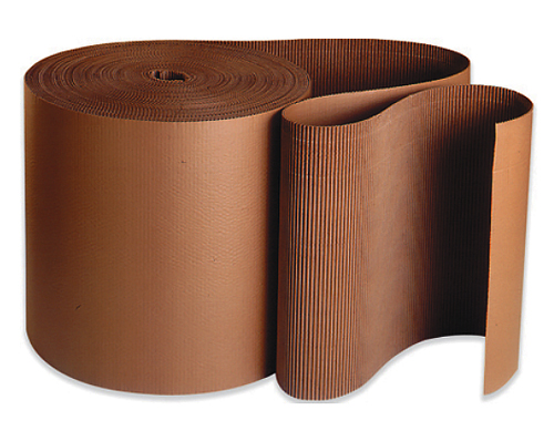 60x250 Brown Singleface Corrugated Rolls