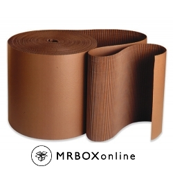 12x250 Brown Singleface Corrugated Rolls