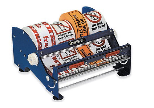12 Table Top Label Dispenser