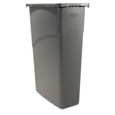 Rubbermaid� Slim Jim� Trash Can 23 Gallon Gray