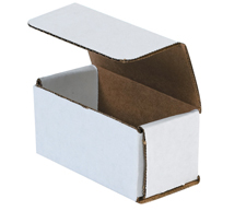 7x5x2 White Die Cut Mailer Boxes