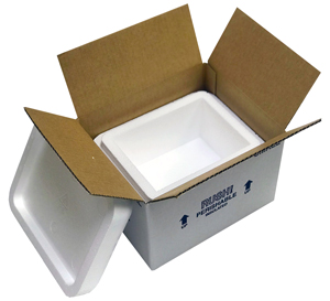 8x6x4.25 4 Quart Small Styrofoam Coolers