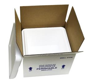 12x10x9 Small Steak Styrofoam Cooler Foam Coolers