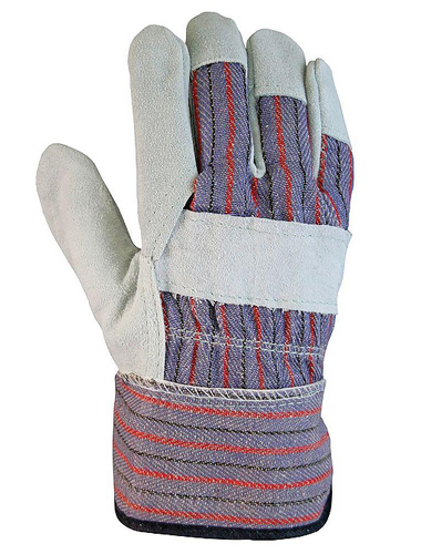 Steel Strapping Leather Gloves