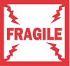 "2""x2\"" Fragile Mini Labels"
