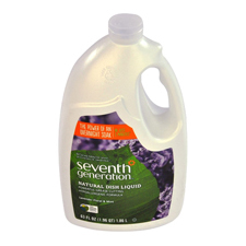 Seventh Generation Natural Dish Liquid Lavender and Floral Mint