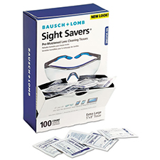 Bausch and Lomb Sight Savers Premoistened Lens Cleaning Tissues