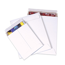 6x6 Stayflat White Self Seal Envelopes