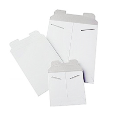 12.75x15 Stayflat White Mailers
