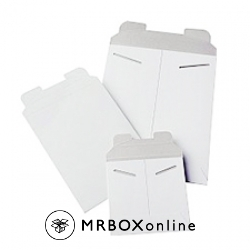 9.75x12.25 Stayflat White Mailers