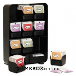 Nine-Drawer Tea Bag and Accessory Holder