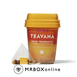 Teavana Peach Tranquility Tea Bags with a $525 order