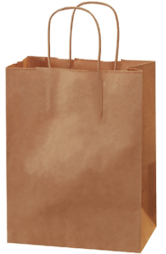 Tempo Brown Shopping Bag