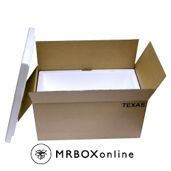 29x15x12 90 Quart Texas Styrofoam Cooler
