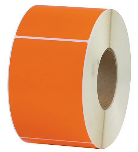 4x6 Orange Tinted Thermal Transfer 3 inch core
