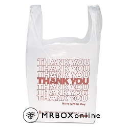 T Shirt Bag 11.5x6.5x22 Thank You