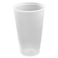 16 Ounce  Clear Translucent Cups