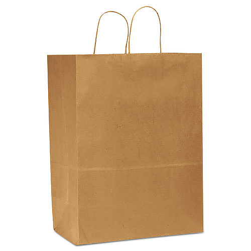 Traveler Brown Shopping Bags