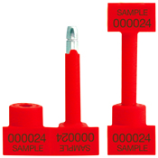 1.25 Red Snap Tracker Bolt Seals